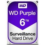 Фотографія 1 жесткого диска Жорсткий диск Western Digital Purple 6TB 64МB 3.5 SATA III — WD60PURZ