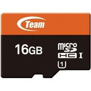 Фотографія 1 карты памяти Карта пам`яті Team UHS-1 microSDHC Class10 16GB + SD адаптер - TUSDH16GUHS03