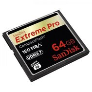 Фото карты памяти SanDisk CF 64GB eXtreme Pro 160MB/s - SDCFXPS-064G-X46