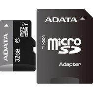 Фото карты памяти A-Data microSD Class 10 32GB with adapter - AUSDH32GUICL10-RA1