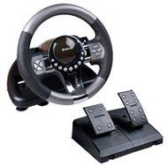 Фотография 1 игрового руля Игровой руль Defender Forsage GTR для PC — 64367 под  связь
