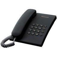 Фотография 1 проводного телефона Телефон Panasonic KX-TS2350UAB Black черный цвет