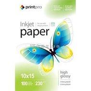 Фото фотобумаги PrintPro 230г/м, PG230-100 - PGE2301004R