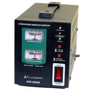 Фотографія 1 стабилизатора напряжения Стабілізатор напруги Luxeon AVR-500 (Black) на 500 ВА