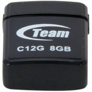 Фотографія 1 USB флешки USB флешка Team C12G Black 8GB USB 2.0 - TC12G8GB01 пластик