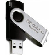 Фотография 1 USB флешки USB флешка GoodRam Twister Black 4GB USB 2.0 - UTS2-0040K0R11 металл + пластик
