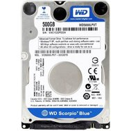 Фото жесткого диска Western Digital Blue 500GB 5400rpm 16MB Buffer 2.5 SATA III — WD5000LPCX