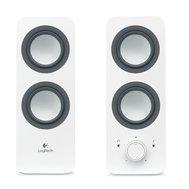 Фотографія 1 акустики Акустична система 2.0 Logitech Z-200 White — 980-000811