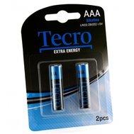 Фото батарейки Tecro Extra Energy Alkaline LR03-2B(EE), AAA/LR03