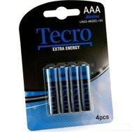 Фото батарейки Tecro Extra Energy Alkaline LR03-4B(EE), AAA/LR03