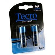 Фото батарейки Tecro Extra Energy Alkaline LR6-2B(EE), AA/LR06