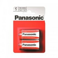 Фото батарейки Panasonic Red Zink R14REL/2BPR, C/LR14