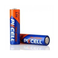 Фотография 1 батарейки Батарейка Pkcell 1.5V AA/LR6, 2 шт.