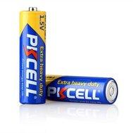Фотография 1 батарейки Батарейка Pkcell 1.5V AA/R6, 2 шт. (блистер)