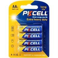 Фотография 1 батарейки Батарейка Pkcell 1.5V AA/R6, 4 шт. (блистер)