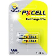 Фото батарейки Pkcell 1.2V AAA 1000mAh NiMH Rechargeable Battery, 2 шт.