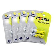 Фото батарейки Pkcell 1.2V AA 600mAh NiMH Rechargeable Battery, 2 шт.