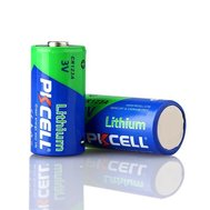 Фото батарейки Pkcell 3V CR123A 1500mAh Lithium Manganese