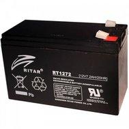 Фотография 1 аккумулятора Свинцово-кислотный аккумулятор AGM Ritar RT1272B, 12V 7.2Ah