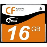 Фото карты памяти Team CompactFlash 16GB 233x — TCF16G23301
