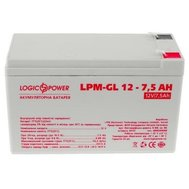 Фото аккумулятора LogicPower LPM-GL 12V 7.5AH