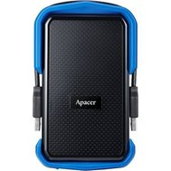 Фото жесткого диска Apacer AC631 1TB 5400rpm USB 3.1 External Black/Blue — AP1TBAC631U-1
