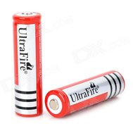 Фото батарейки Ultra Fire 18650 1300mAh 3.7V, Red