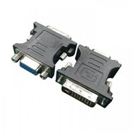 Фото товара Адаптер Cablexpert DVI A 24+5 pin-VGA 15 pin — A-DVI-VGA-BK