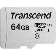 Фото карты памяти Transcend 300S UHS-I microSDXC 64GB Class 10 - TS64GUSD300S