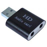 Фото звуковой карты Dynamode USB-Sound7-Alu Black