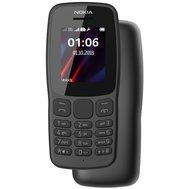 Фото мобильного телефона Nokia 106 New 2018 Dual Sim Grey