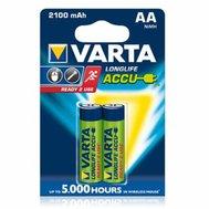 Фото батарейки Varta AA/HR06 Rechargeable Accu 2100 mAh BLI 2
