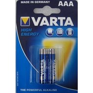 Фото батарейки Varta High Energy AAA/LR03 BL 2шт