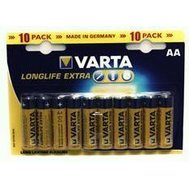 Фото батарейки Varta Longlife AA/LR06 BL 10шт