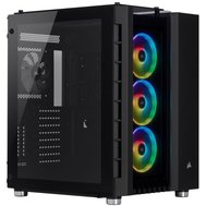 Фото компьютерного корпуса Corsair Crystal 680X RGB Black no PS — CC-9011168-WW