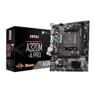 Фото материнской платы MSI A320M-A Pro (sAM4, AMD A320, PCI-Ex16)