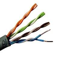 Фото кабеля Одескабель FTP 5e 4x2x0.51 Cu уличный (медь) 305м