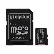 Фото карты памяти Kingston Canvas Select Plus microSDXC Class10 128GB + SD adapter - SDCS2/128GB
