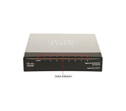 Фото коммутатора Cisco SB SG 200-08P
