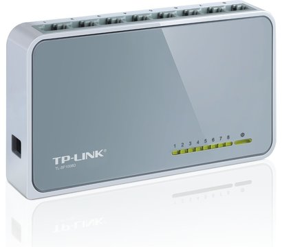 Фото №1 коммутатора TP-Link TL-SF1008D
