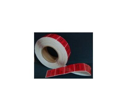 Фото товара Этикетки для заморозки квадратные с ложным ШК, рул. 1000 шт.