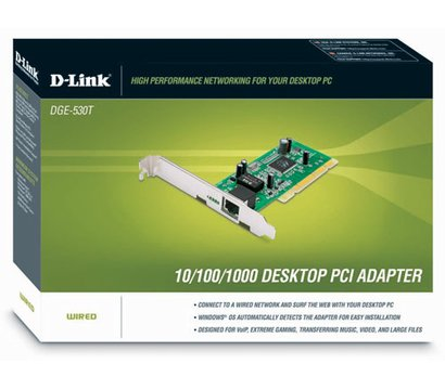 Фото №1 сетевого адаптера D-Link DGE-530T