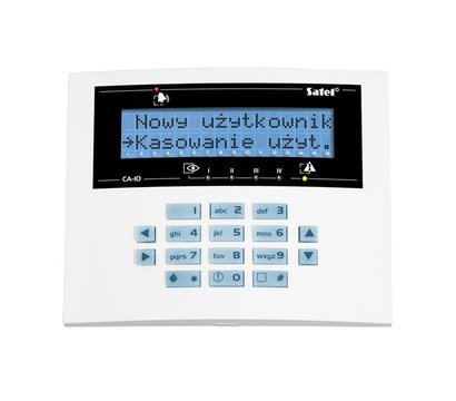 Фото охранной клавиатуры Satel СА-10 BLUE-L