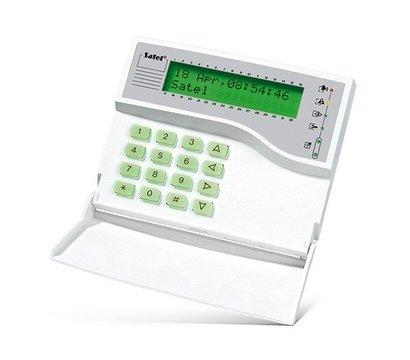 Фото охранной клавиатуры Satel INT-KLCDK-GR