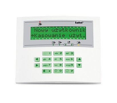 Фото охранной клавиатуры Satel INT-KLCDL-GR