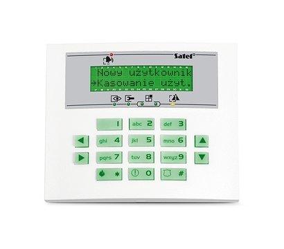 Фото охранной клавиатуры Satel INT-KLCDS-GR