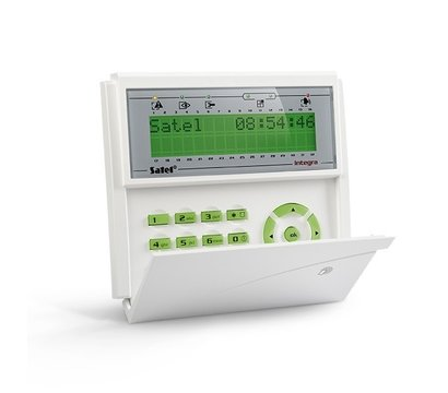 Фото охранной клавиатуры Satel INT-KLCDR-GR