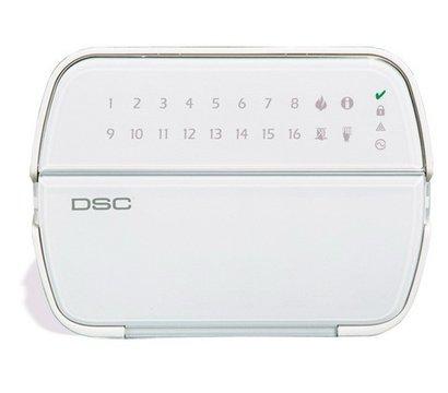 Фото №1 охранной клавиатуры DSC RFK-5516