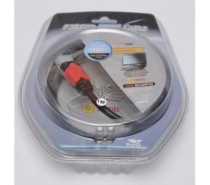 Фото товара Кабель HDMI - HDMI Atcom 14942 1м.