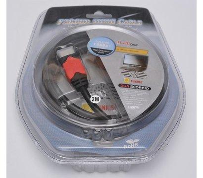 Фото товара Кабель HDMI - HDMI Atcom 14943 2м.